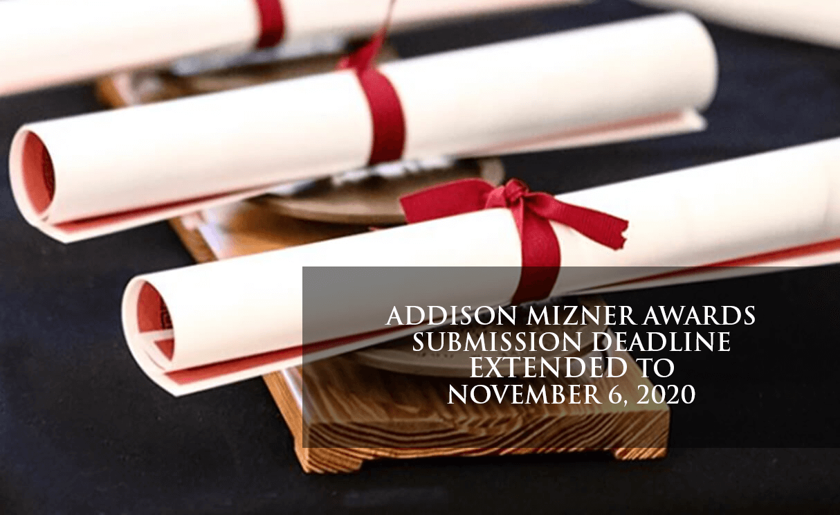 AMA Call for Entries Extended to Nov 6, 2020